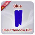 Uncut Colored Window Tint Film - Blue