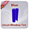 Uncut Colored Window Tint Film - Blue