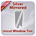 Uncut Colored Window Tint Film - Silver Mirrored