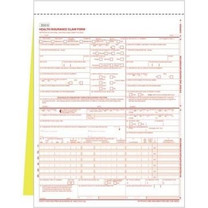 New CMS-1500 (02/12) Claim Form 2-Part Snap-Apart, 500 sheets.  Item # CMS12S