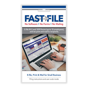 FAST FILE (for PC & Mac). 10 or 25 e-filings and delivery. (Item # FAST FILE)