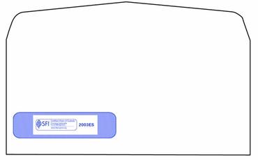 """ADA Self-Seal Window Envelope, Size 4-1/8"""" x 9"""".  Item # 2003ES."""