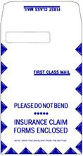 CMS-1500 Jumbo Envelope, LEFT Window, 100 per box, Self Seal (Item # 1500LL).