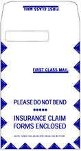 CMS-1500 JUMBO ENVELOPE, LEFT WINDOW (Item #1500LL).
