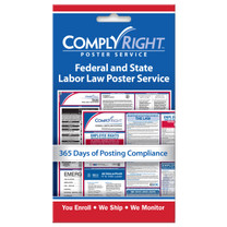 ComplyRight Federal & State Poster Service Retail Card (Item # CRPS01)