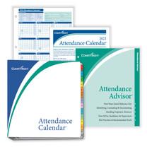 2022 Attendance Calendar KIT, 50 per package  (Item # A1411W16PK50)