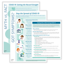 Coronavirus (COVID-19) Prevention Bundle with Posters and Handouts (Item # N0090)