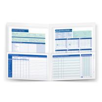 2022 Attendance Calendar FOLDER (item # A3050), white, pack of 25