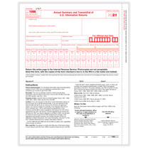 1096 Annual Summary & Transmittal Form (for 1099's). (item# 5100)  2021