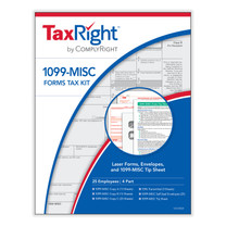 TaxRight 1099 Tax Form Kit for 25 Employees. (Item # C6103E25) 2021