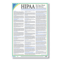 HIPAA Notice of Privacy Practices Poster (Patient Poster) Item # A2123.