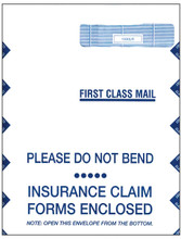 CMS-1500 JUMBO ENVELOPE, RIGHT WINDOW (Item # 1500LR)