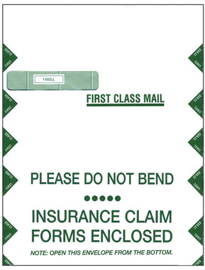 UB-04 JUMBO ENVELOPE, LEFT WINDOW (Item # 1492LL)