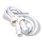 "CROWN ROPE LIGHT 3 WIRE 1/2"" 2FT FEMALE-FEMALE EXTENSION (5/BAG) - BAG"