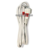 "CROWN ROPE LIGHT 2 WIRE 3/8"" 12 VOLT/24 VOLT POWER CORD 5/BAG - 5 / BAG"