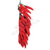35 Red Chili Pepper Cluster - 10235PL2R