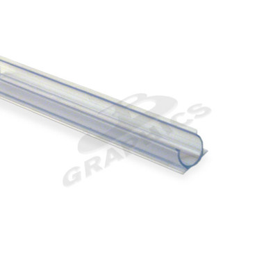 4 clear pvc mounting track for 38 rope light actionlighting 38 4 clear pvc mounting track for crown rope light 10 aloadofball Choice Image