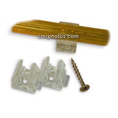 "1/2"" CROCODILE STYLE MOUNTING CLIP - BAG"