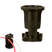 Candelabra Base Socket w/Clip