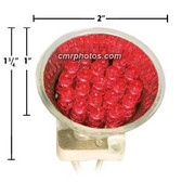 MR 16 LED RED BULB - Ctn/10 bulbs