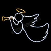 "30"" x 30"" LED ANGEL W/HORN - 100MOLANGEL"