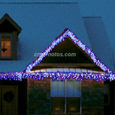 70 M5 ICE BLUE LED ICICLE SET - Each