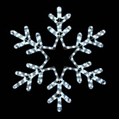 "22"" LED Snowflake Motif Display"