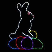 LED Easter Bunny Window or Yard Decoration