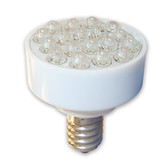 E-14 18 LED COLOR CHANGE MIDWAY BRAND BULB - PACK(10 bulbs) - 227E14LED/CC