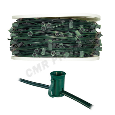 C7 GREEN STRING LIGHT - 500 FOOT ROLL