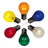 10 watt S11 Transparent Color Options