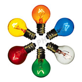 7 watt G8 Transparent Bulb Options
