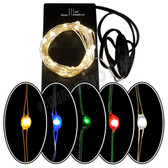 36 Micro LED Battery Light Set - Color Options