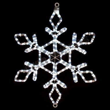 Rope Light Snowflake 22 led snowflake rope light motif silhouette display 100mols44 22 led snowflake rope light motif silhouette display 100mols44 audiocablefo