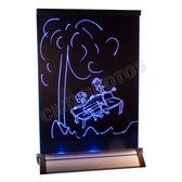 """7.5"""" X 10.5"""" LED COLOR CHANGING MESSAGE BOARD"""