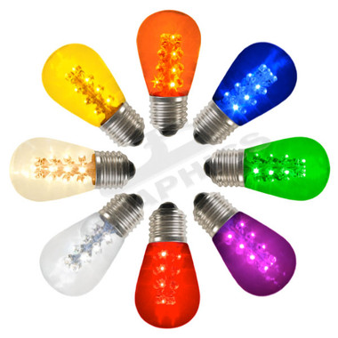 16 LED T50 /S14 Midway Replacement Sign Bulb - Each - 227LEDS14/T  sc 1 st  Action Lighting & 16 LED T50 /S14 Midway Replacement Sign Bulb - Each - 227LEDS14/T ... azcodes.com
