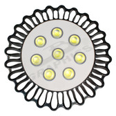 LED SUNFLOWER LIGHT - 227CFLOWER - 100 WATT SHOWN -FRONT VIEW