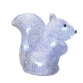 3-D Acrylic LED Squirrel - Battery Powered - 100AMO1076 - Right Side View