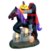 6.5ft Headless Horseman Inflatable Display