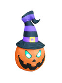 4ft Scary Pumpkin Head Monster Inflatable yard Decoration