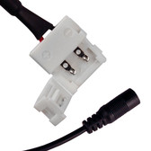 Easy Flexible SMD Light Strip Power Connector - End Views