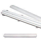 4FT led Fixture - Available with Clear or Milky Cover