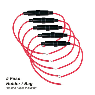 Inline Fuse Holder - Sold in Bags of 5pc