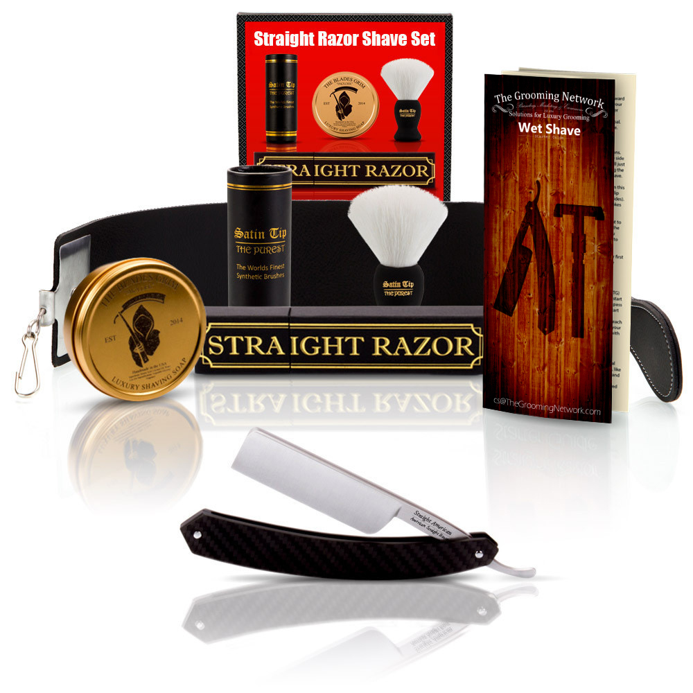 Straight American Square Tip Straight Razor