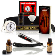 "10 Piece Set Shaving Straight Razor 6/8"" GD w/Box"