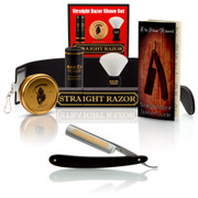 "Dovo Ebony 5/8"" Straight Razor Set"