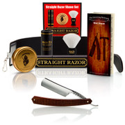 "Thiers-Issard 6/8"" Straight Razor Snakewood Set"