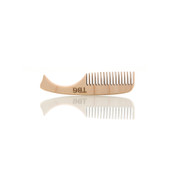 Wooden Mustache Comb - By The Blades Grim