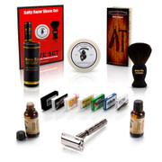 Safety Razor Shave Set with Blade Sample Pack