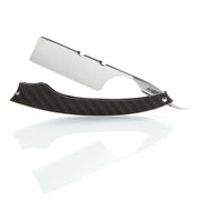 "NTC Straight Razor ""Castor"" 7/8 Blade with Carbon Fiber Scales"